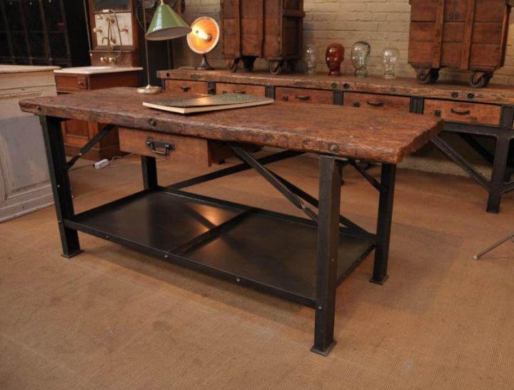 Мебель для интерьера в стиле лофт3