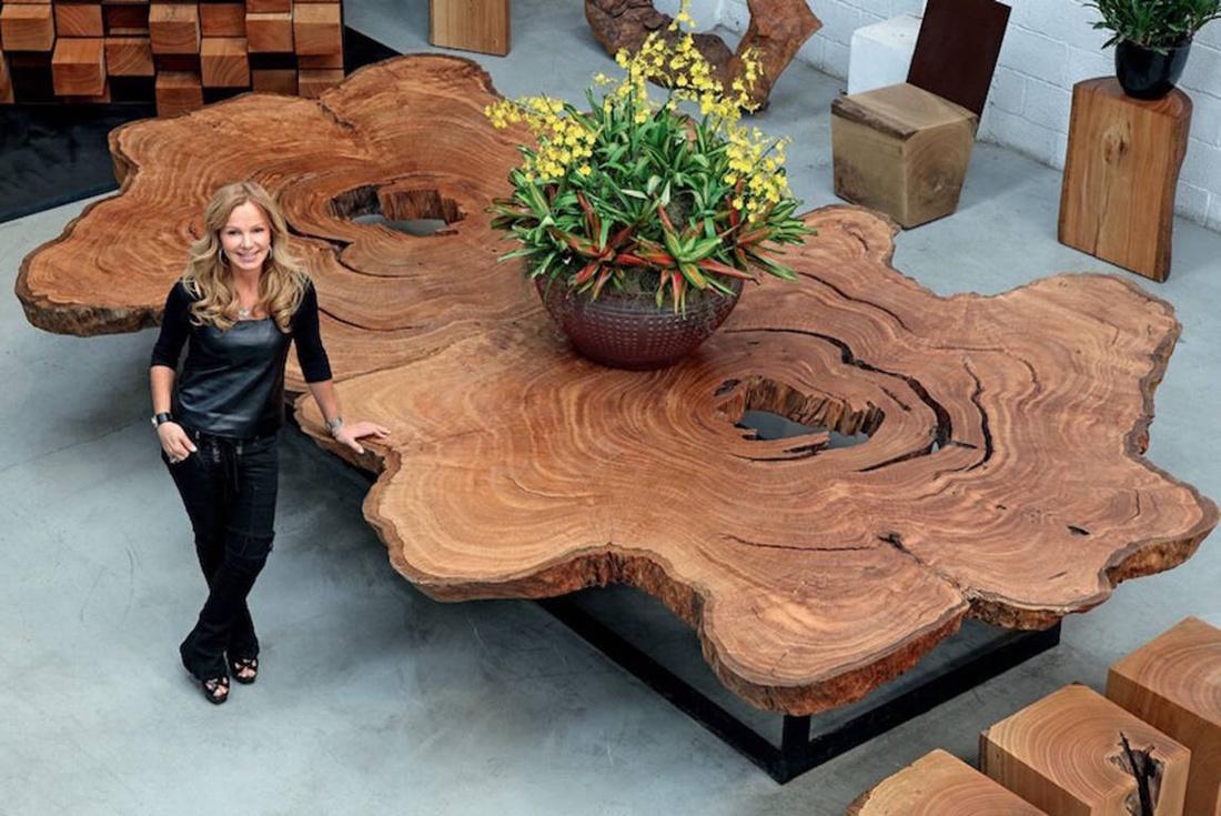 Эксклюзивная и экологичная мебель от Debora Aguiar