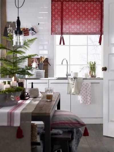 Украшение кухни к Рождеству