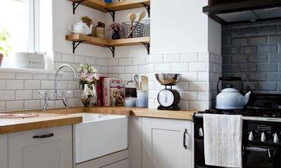 использование угла в угловой кухне