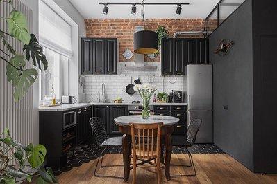 25 удивительных дизайнов кухонь.