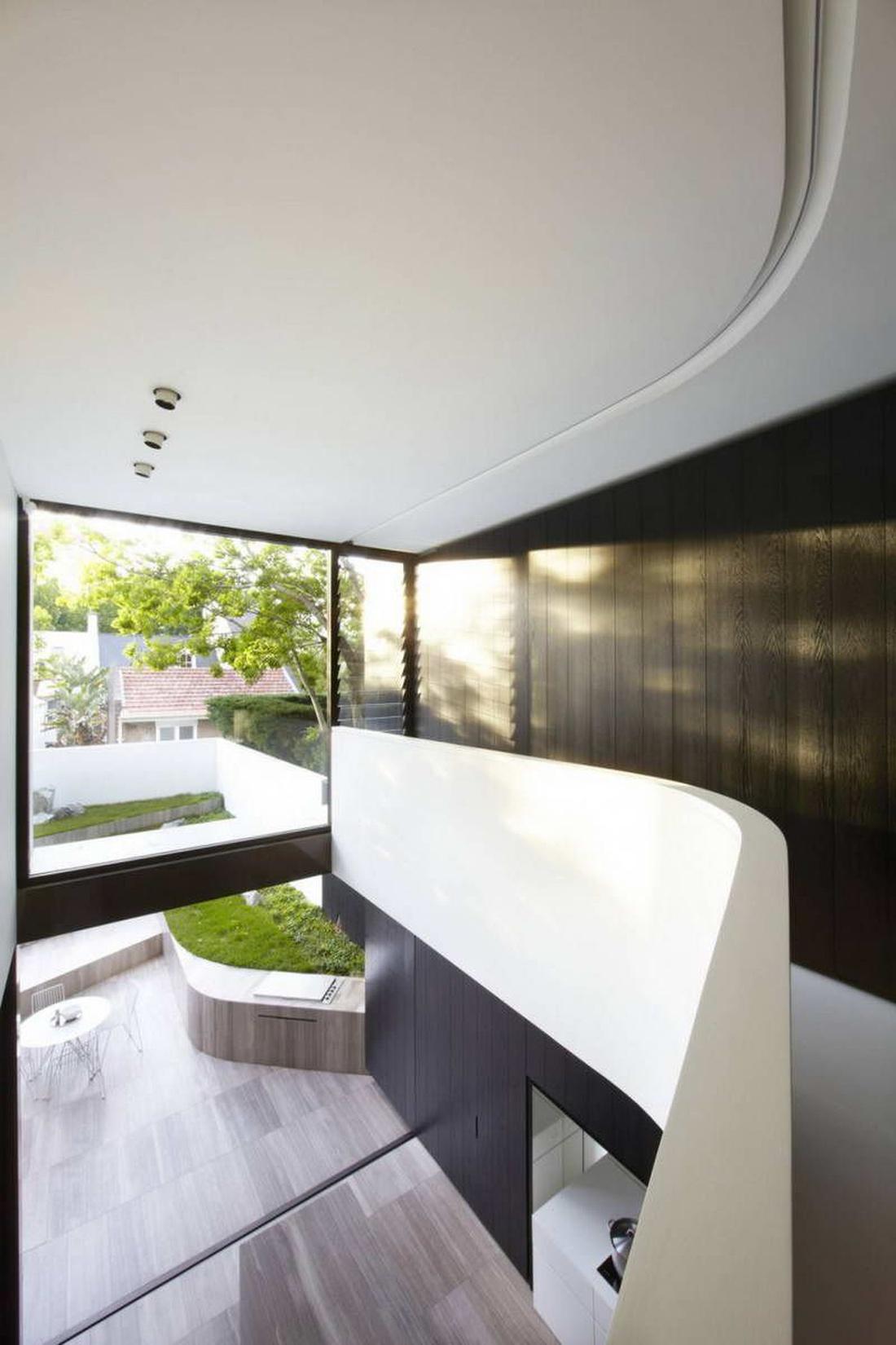 Балкон в гостевом уровне