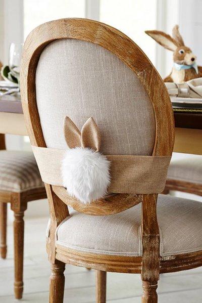 пасхальный декор мебели