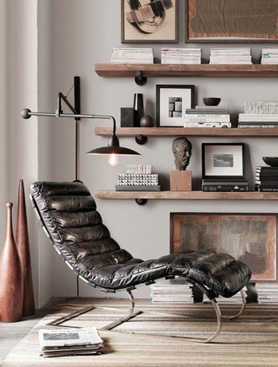 Кожаная мебель.