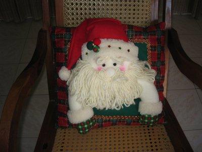 Декоративная подушка Санта