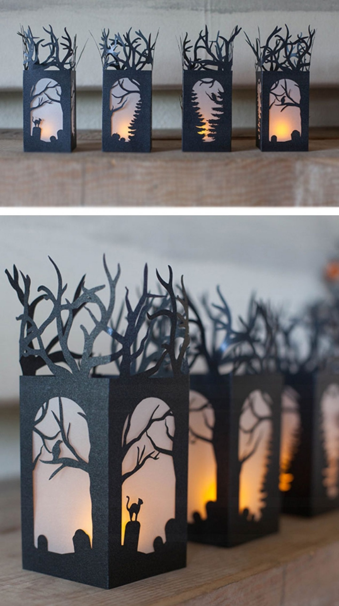 Светильник на Хеллоуин своими руками