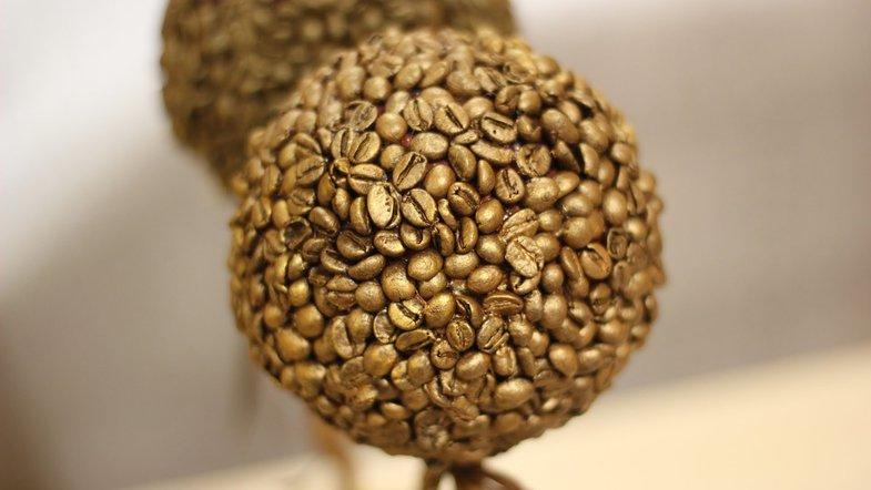 Изящные топиарии из кофе: красивый декор и дружелюбная атмосфера ... | 442x785