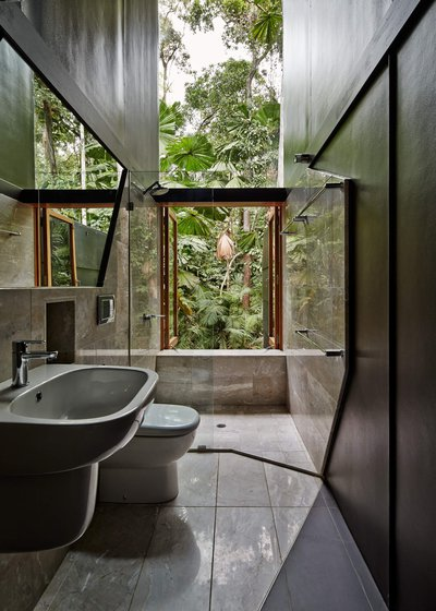 tropical bathroom design