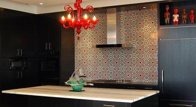 Яркая кухня в марокканском стиле
