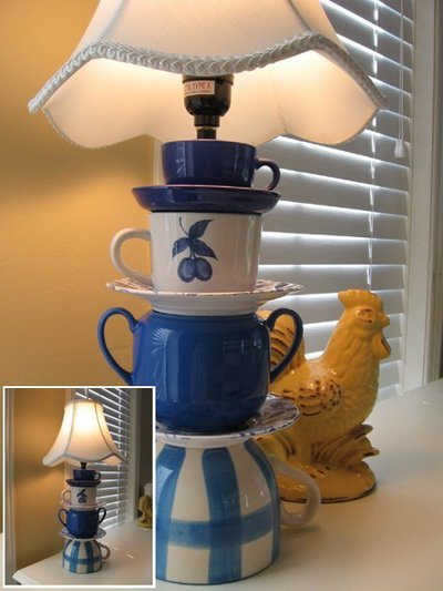 лампа на столик для чаепитий