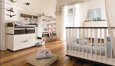 Детская комната в стиле минимализм.