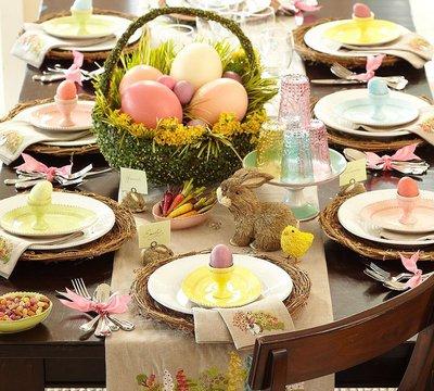 Праздничная сервировка и декор стола