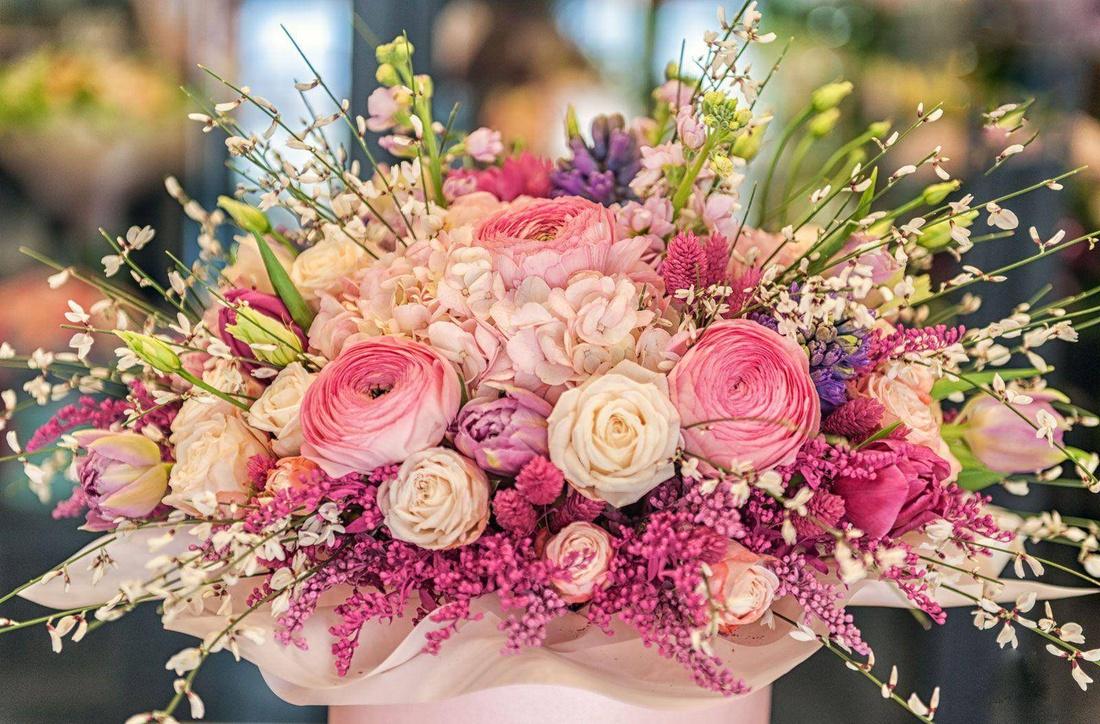 Букет цветов он-лайн