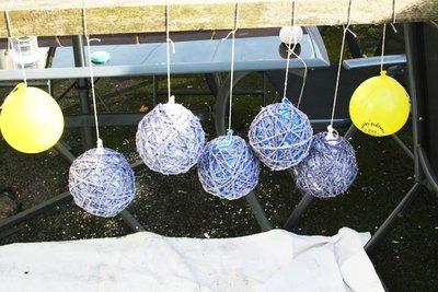 шары из нитей