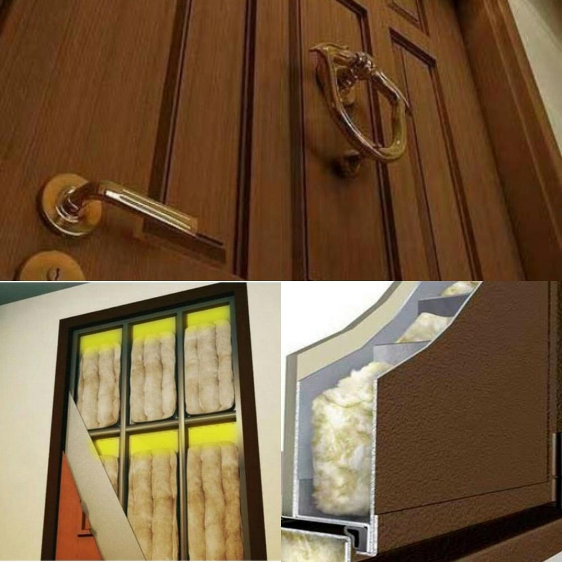 Входные двери с терморазрывом. Утепление