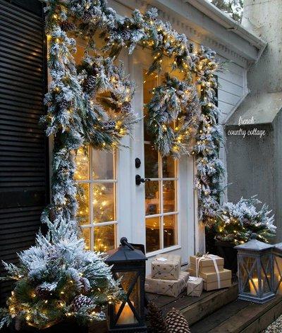 Рождественское крыльцо