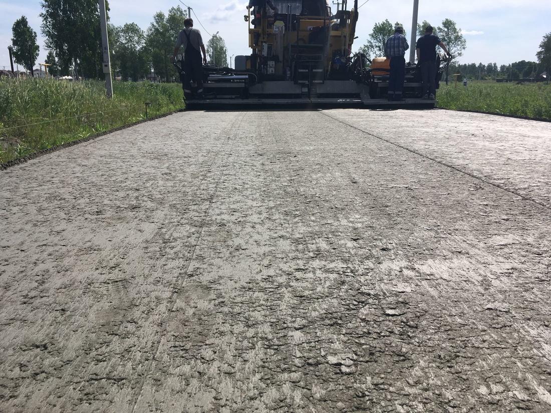 Преимущества бетонных дорог для промышленных предприятий .