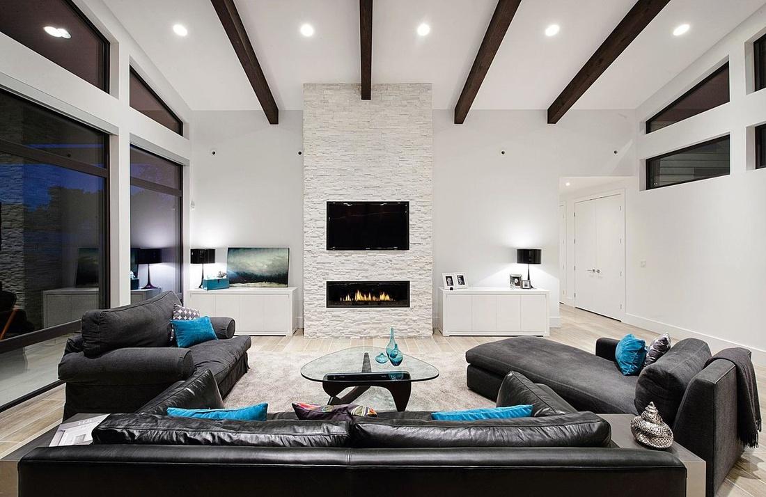 Hi-tech living room