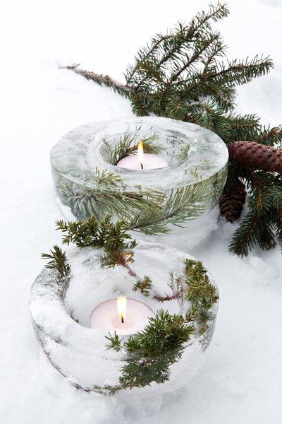 Свечи во льду