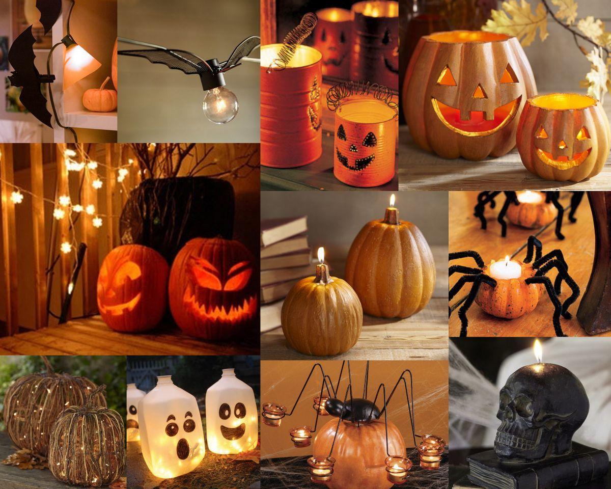 Декорации своими рука для хэллоуина 500